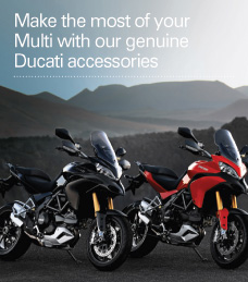 Make the most of your Multi with our genuine Ducati accessories